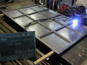 (金属・プラスティック・木工)加工 総合看板のバンビ加工